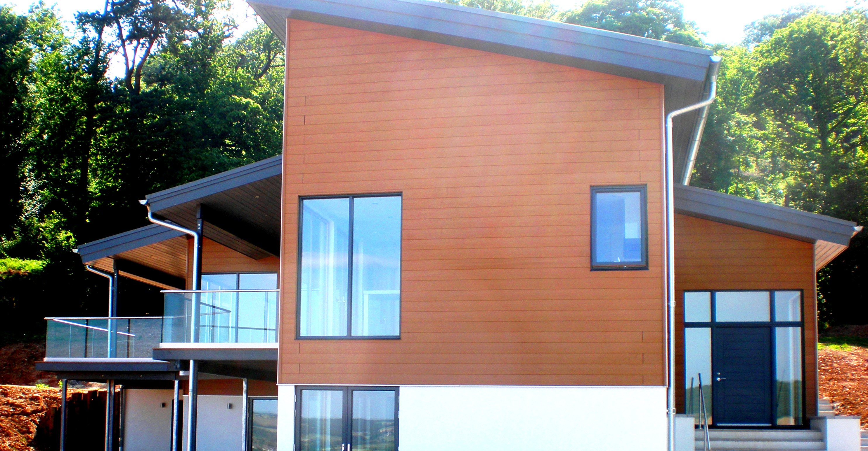 Cutlers Hill New House Design Above Sidmouth