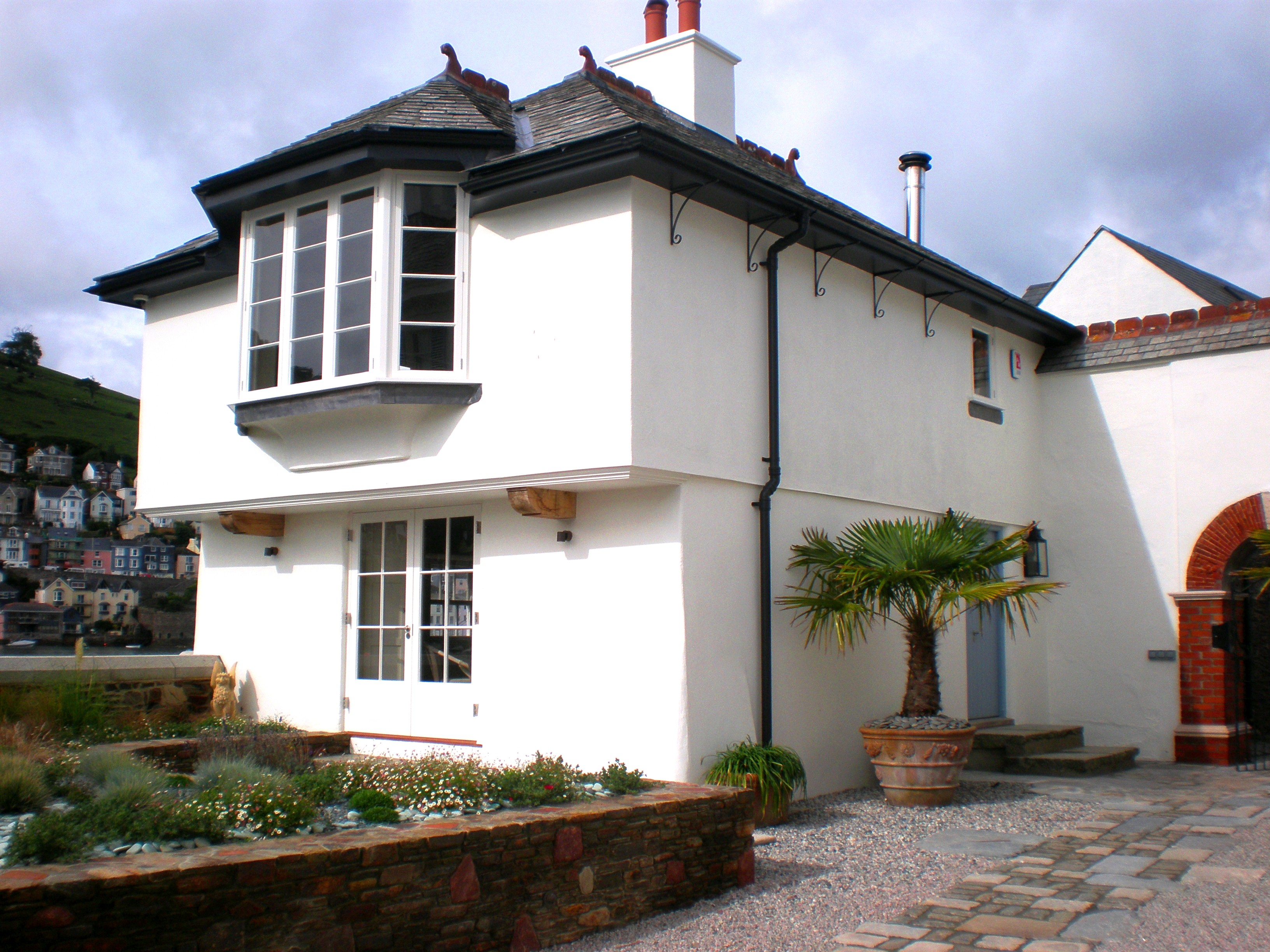 Extensions and alterations to a Grade II listed riverside property