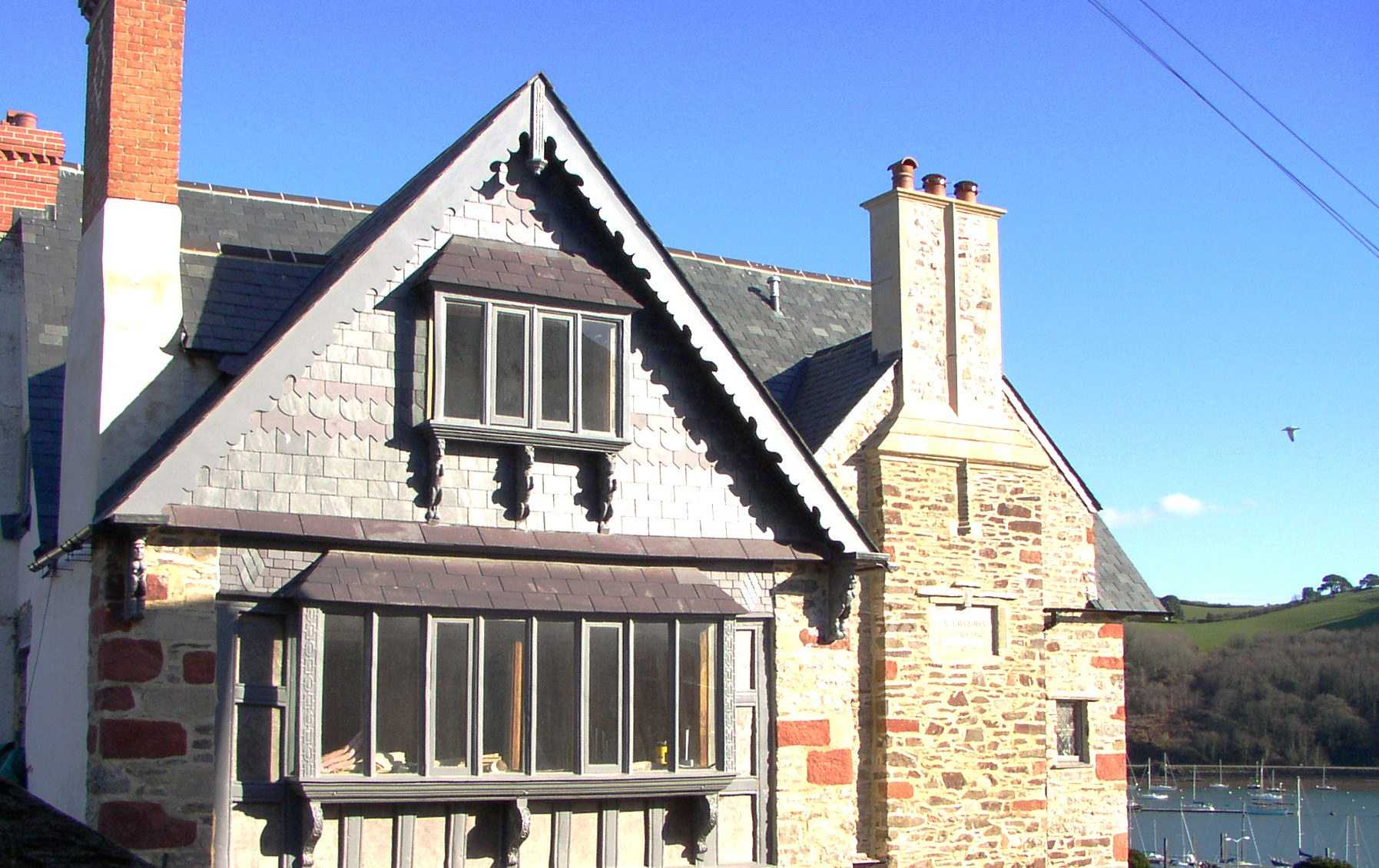 Newcomen Cottage Total restoration of a magnificent listed building in the centre of Dartmouth