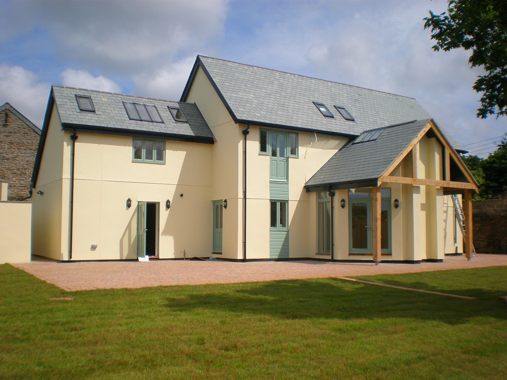 Barn Conversion new house next to refurbished barn