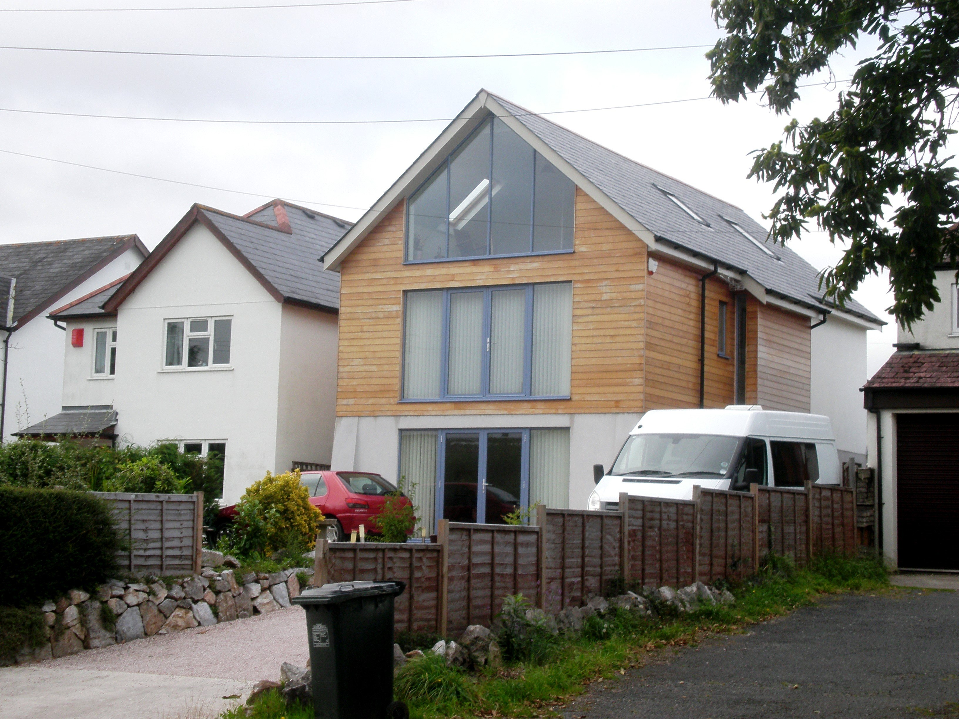 New Home Elevation at Broadway Road, Kingsteignton