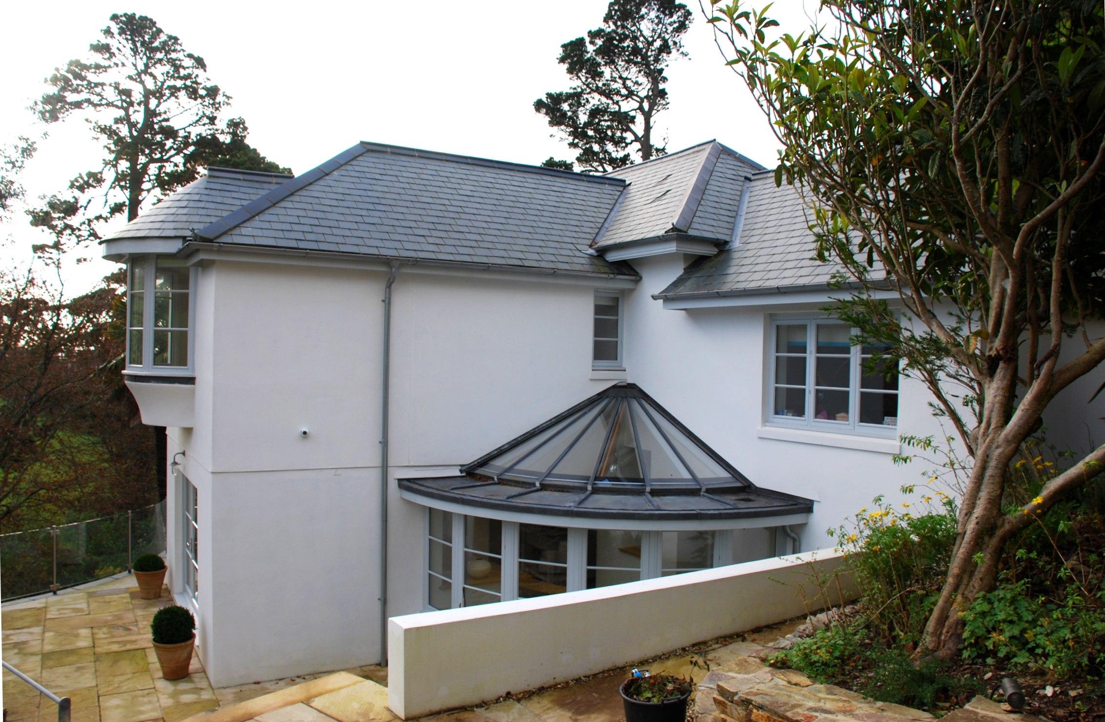 Victorian property exterior design