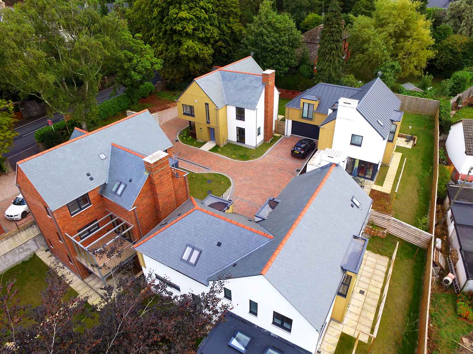 Four new homes in Totnes