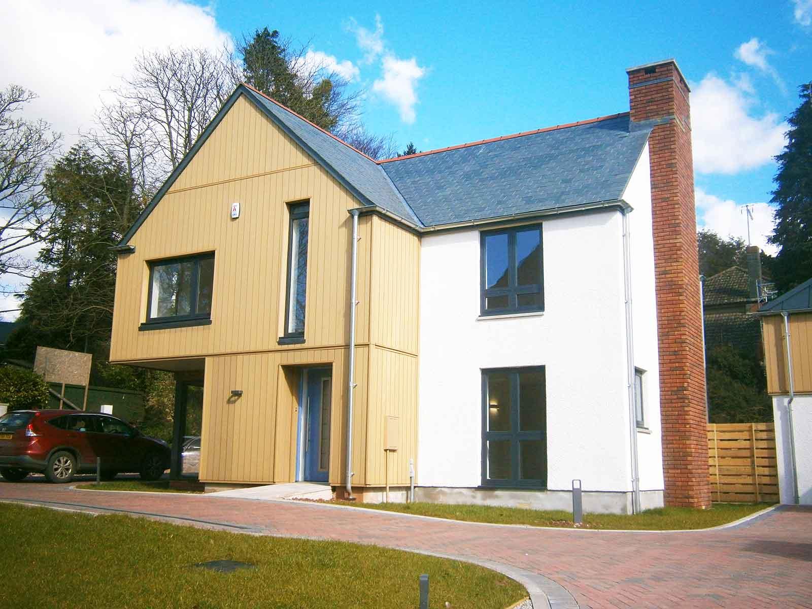New dwelling design in Totnes