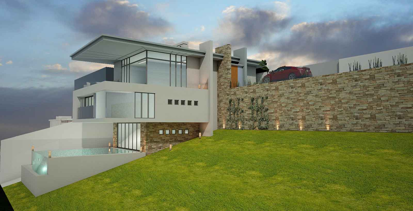 Proposed new dwelling in Dawlish