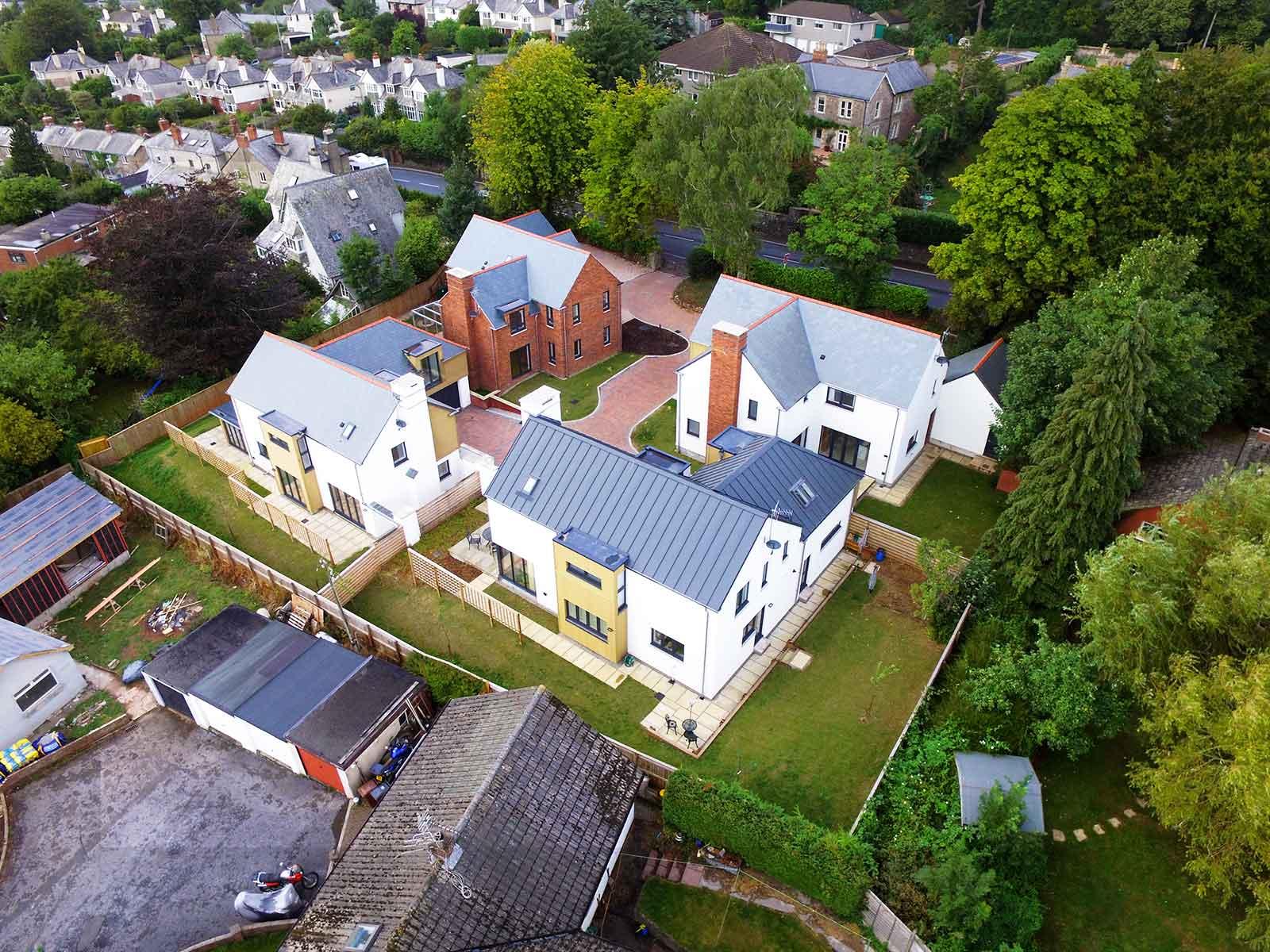 Redlands four new homes in Totnes