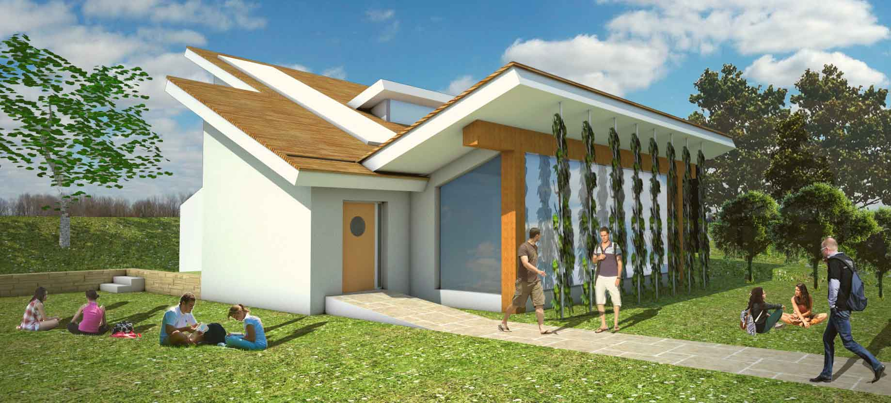 Environmentally friendly classroom design for local school