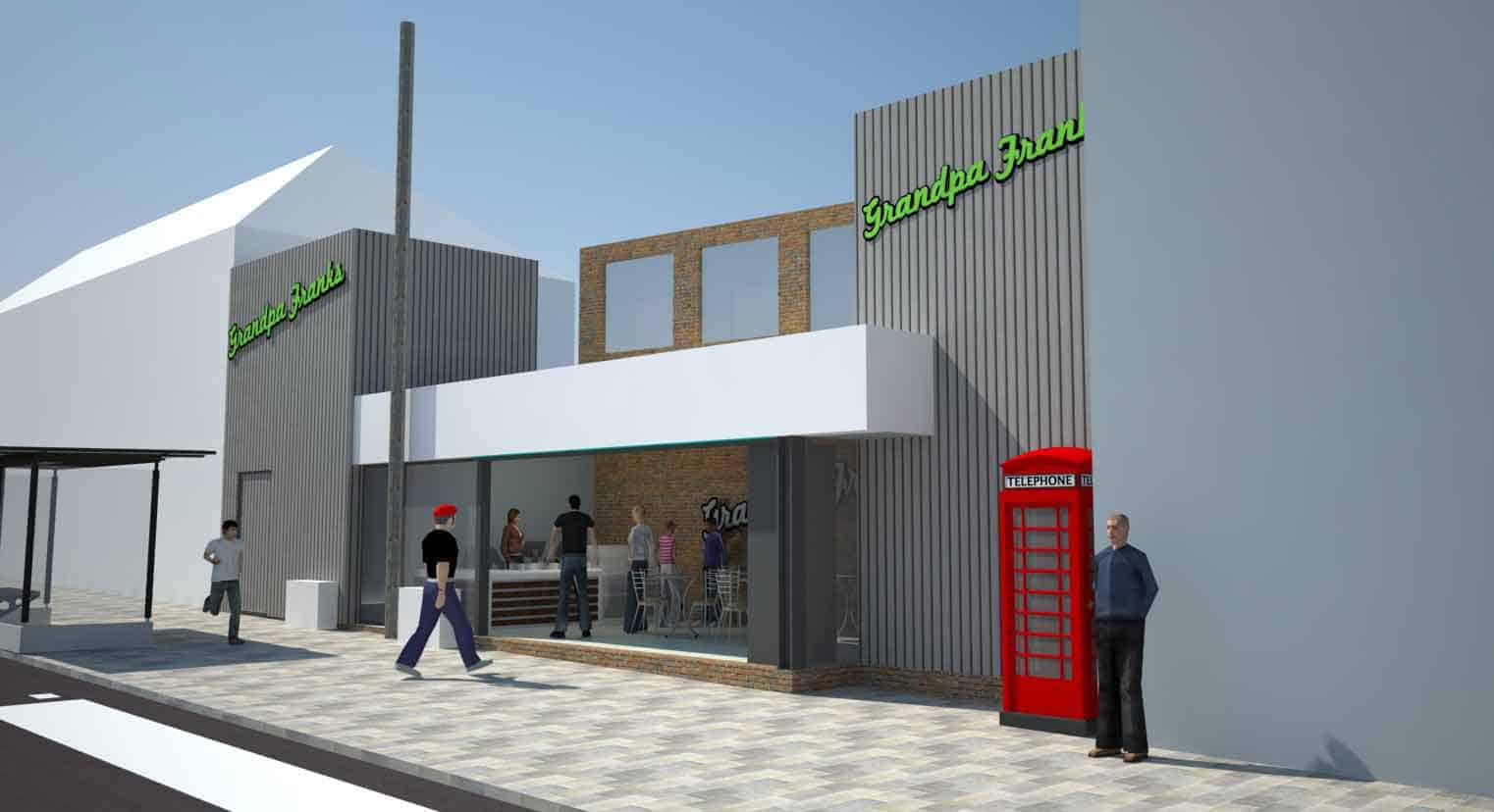 Fast Food Outlet EJW Architects