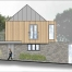 Housing development concept by EJW Architects, Totnes, Devon